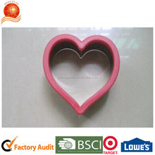dessert tools heart shape silicone baking cake mould cookies mould Hongxuan HX-HCM13