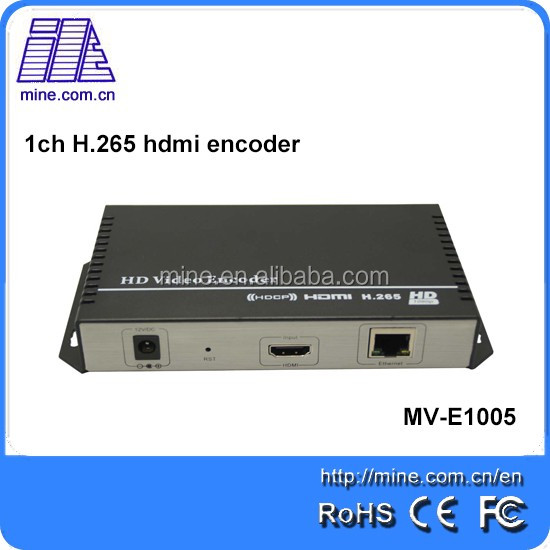2015 HOT best 16 channels h.264 hardware encoder support 1080p iptv streaming video encoder