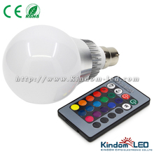 10W RGB LED full color rotating lamp, RGB magic LED disco bulb