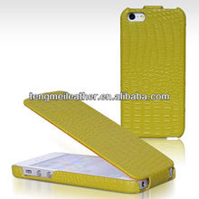 Trendy Borofone Crocodile Flip Genuine Leather Case Cover For iphone 5 5S, Waterproof case for iphone5s