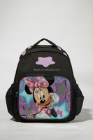 Cheap kids school backpack bag with cartoon