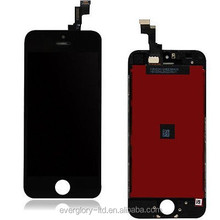 Black Front LCD Glass Touch Screen Digitizer Assembly For Iphone 5S Best Quality
