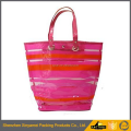 high quality Customized fashion design PVC tote bag