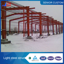 Credible prefabricated steel structure building in good price
