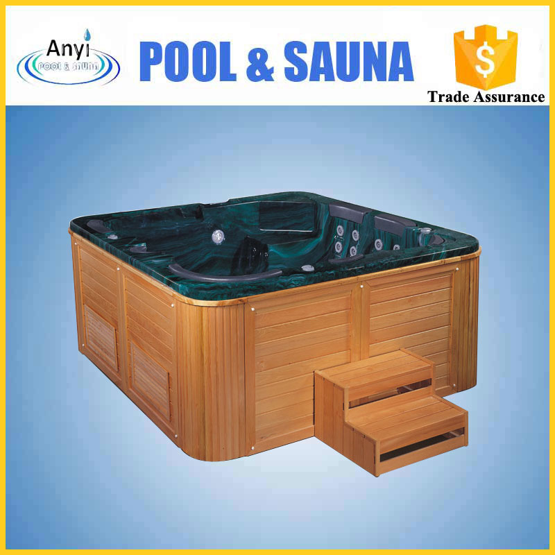 hot sales outdoor rectangular cold spa hot tub