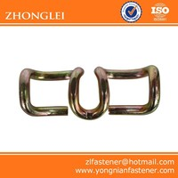 Different types of rail elastic clips for railway construction
