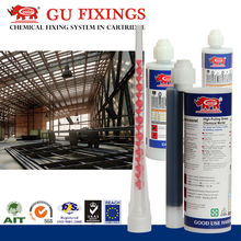 Bracket fixing epoxy resin cement system bonding glue