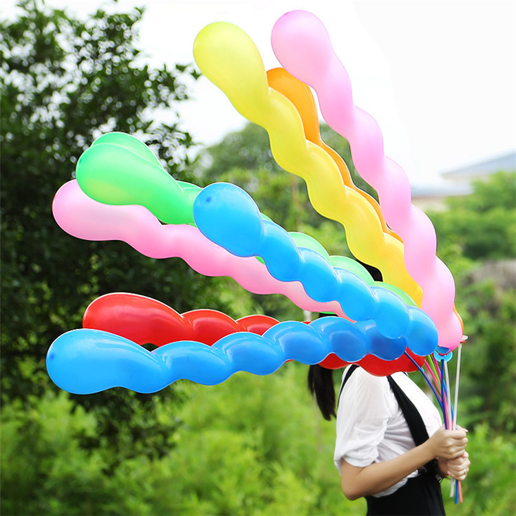 2016 Christmas Party Toy Decoration Long Screw Balloon Screw Balloon in Balloons