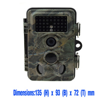 Deer hunting trail scouting camera with IR night vision quality