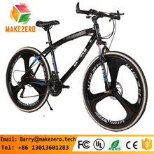 "China wholesale cheap bicycle 26"" wheels steel 21speed fork mountain bike"