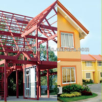 Large Span Prefabricated Light Steel frame house
