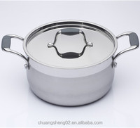 Charms induction cooking stainless steel soup pot