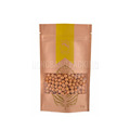 Customzied printing stand up paper pouch dried food zipper kraft paper pouch
