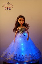 Luminescent Event & Party Supplies / Dress Up Dolls for Wedding Car Decorations