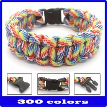 wholesale 550 paracord bracelet hand chain for men