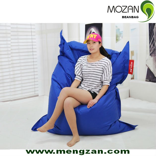Outdoor waterproof fabric large square bean bag