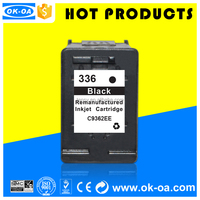 recyled ink cartridge for HP 336 C9362EE clip