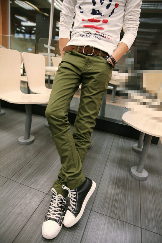 2014 latest cotton sport man Skinny Ankle Fit pants mans sports track pants track pants