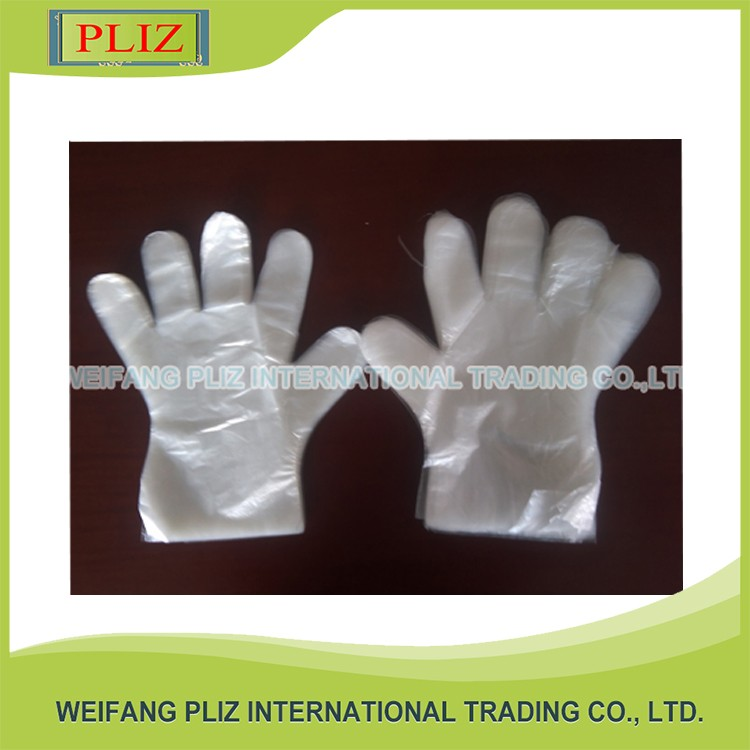 Custom household plastic gloves disposable plastic gloves