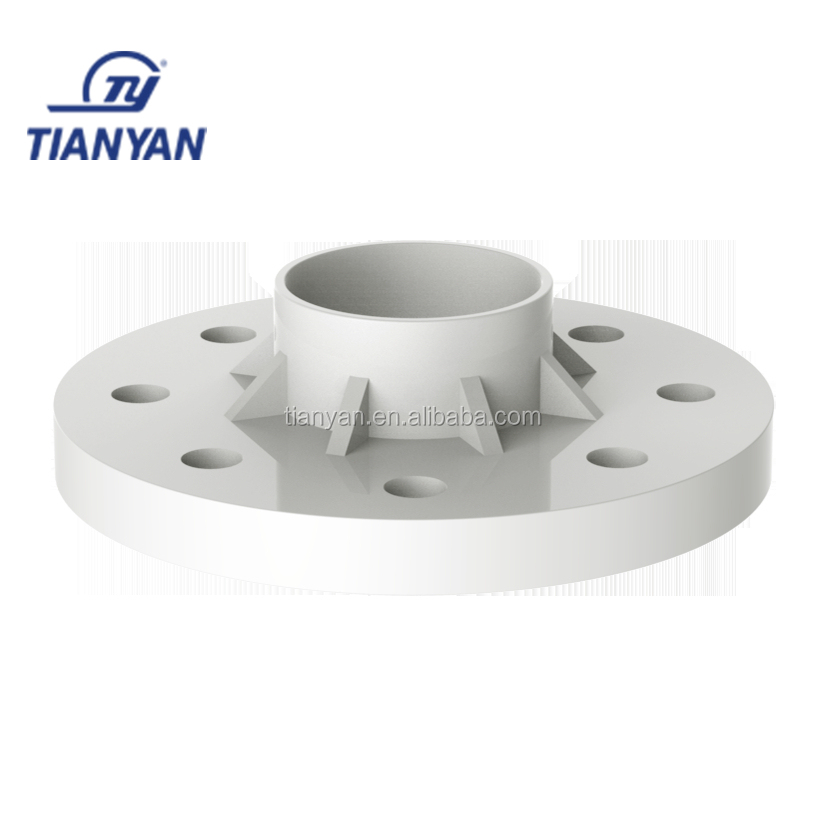 TY brands Water Supply PVC plastic water connection fittings flexible rubber pipe Joints connect Movable casing flange