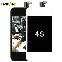 100% original oem replacement screen with back glass for iphone 4s lcd digitizer