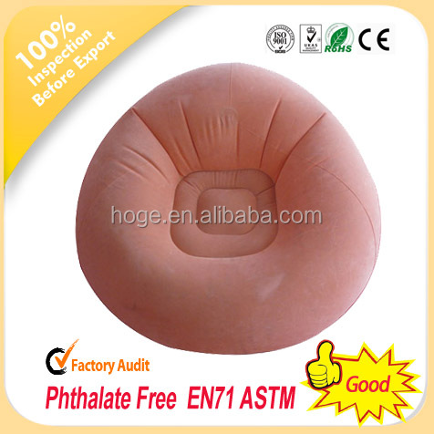 Flocked inflatable furniture,flocked inflatable sofa,inflatable chair