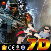 Funny Shooting Game 5d xtreme/7d cinema in china theaters 7d 7d cinema equipment video game Special Effects