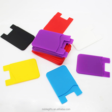 Silicone card holder wallet the cool and fashionable tent card holder and hotel key card holder with custom logo 2016