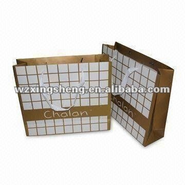 lowest price high quality fashion Packaging paper gift bag OEM promotion corrugated brown paper