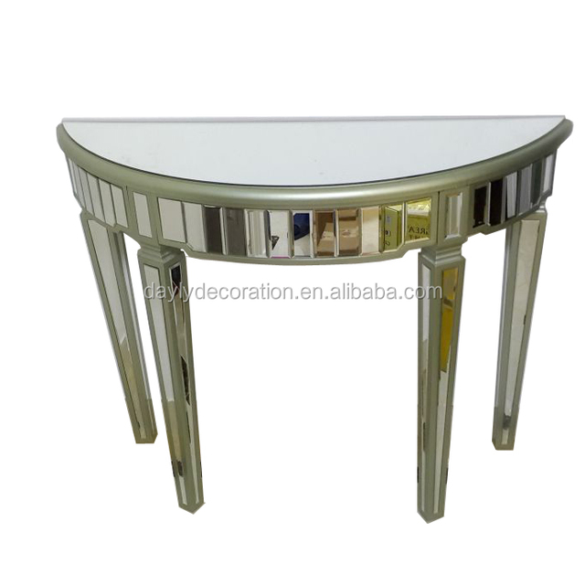 Flower style mirrored furniture for wall decor large size high quality wholesale ornate mirror frame