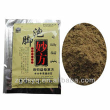 Foot bath powder medicine for Dysmenorrhea painful menstruation hot water bath foot