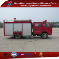 Best Selling Products Euro4 2T Dongfeng Small Water Tank Fire Truck