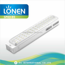 LONEN bar shape 45 LED high bright solar 220v rechargeable emergency led lamp