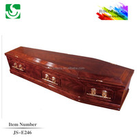 fashion modeling china factory traditional flat packed coffin