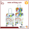 Factory Full Printing Luggage Bag Cabin Trolley Case