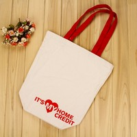 Best selling custom tote cotton christmas washed canvas shoulder bag