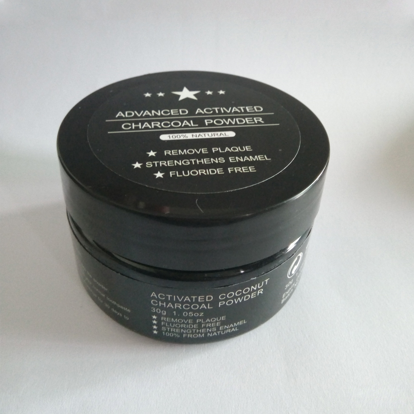 30g Home Use 100% Organic Activated Charcoal Coconut Shell Teeth Whitening Powder For Cleaning Tooth