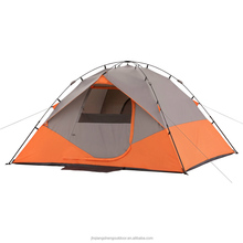 Big Enough For 6 People Windproof And Waterproof Easy Folding Trail Instant Dome Camping Tent