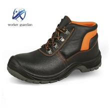 PU outer sole esd prevent puncture safety boots safety men shoes with steel toe cap