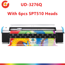 Advertising poster printer price UD-3208Q phaeton/infinity solvent printer with seiko heads wide large format solvent printers