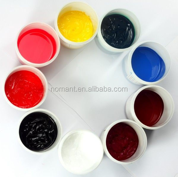 good handfeel /high elastic white rubber paste for t-shirt screen printing