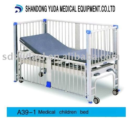 Medical children bed