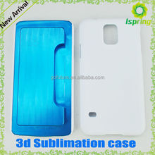 2014 high quality, blank 3d sublimation protective phone case