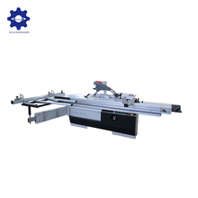 Precision Horizontal saw wood cutting machine 3200mm 45 degrees wood cutting band saw panel saw table cutting