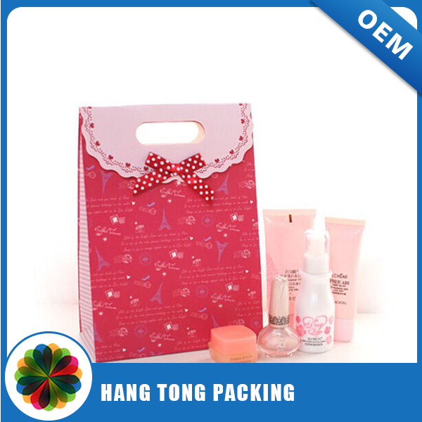 decorative nice looking boutique paper bag for packing