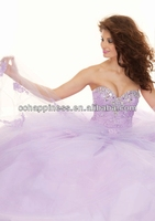 2014 wholesale customized purple and white wedding dresses