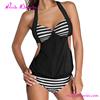 Online shopping black halter one piece sexy women swimsuit for muslim