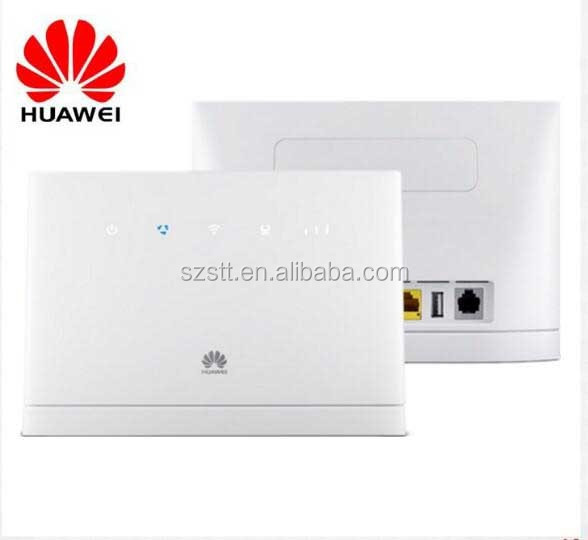 Huawei B315 4G LTE CPE Sim router with 4 Lan ports support Rj11 Voice function
