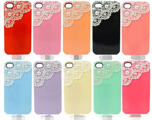 2013 New Arrival Hot Selling Products Luxury Bling Pearl Sweet Ice Cream Hard Case For Apple iphone 5 Phone Accessories