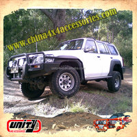 Wholesale ARB Type 4x4 Steel Side Step Running Board Nerf Bar Car Pedal for Patrol Y61 GU1-3 with Side Rail Design